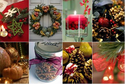 10 ideias para uma decoração de Natal com fruta