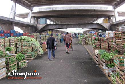Indicador de preço dos alimentos da Ceagesp sobe 14,31% em 2015